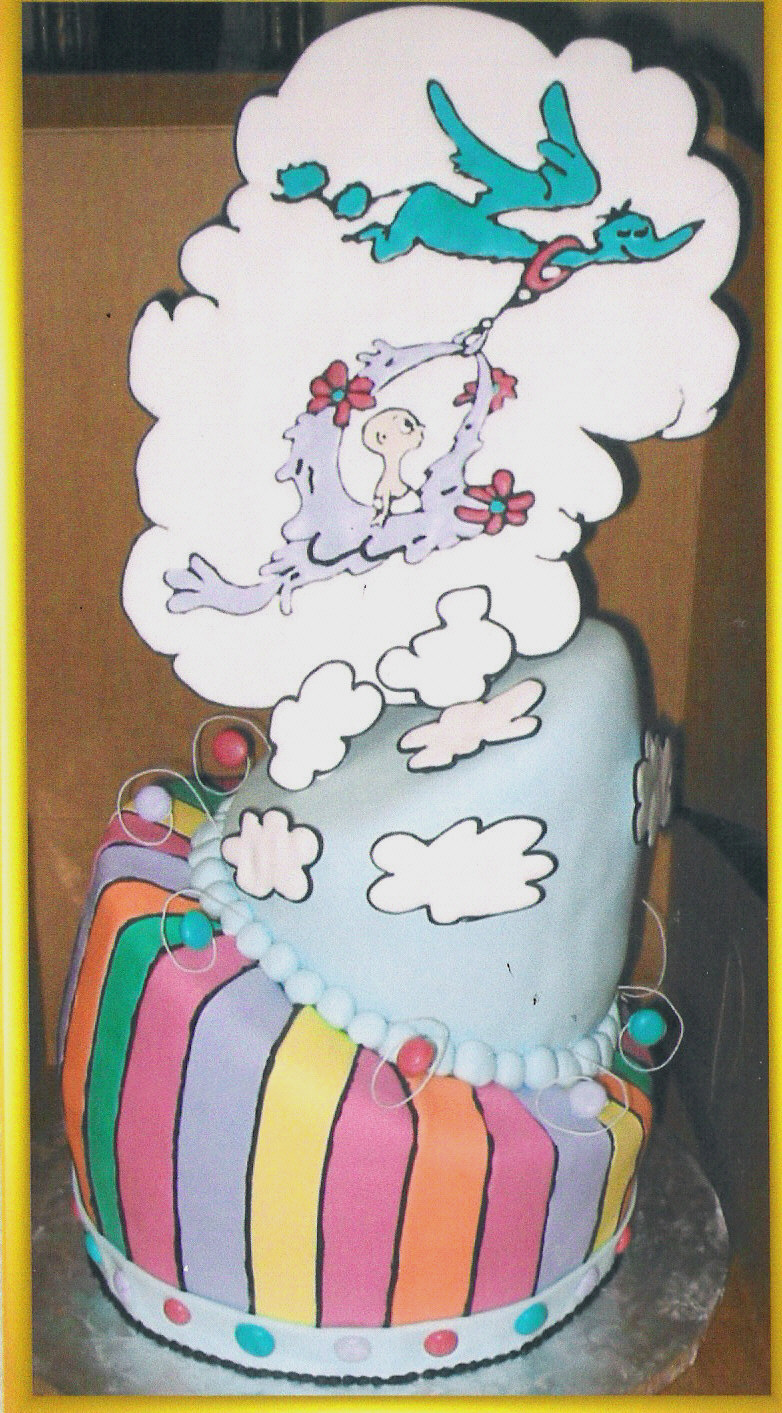 Liz\'s Cakes - Topsy Turvy/ Mad Hatter Cakes